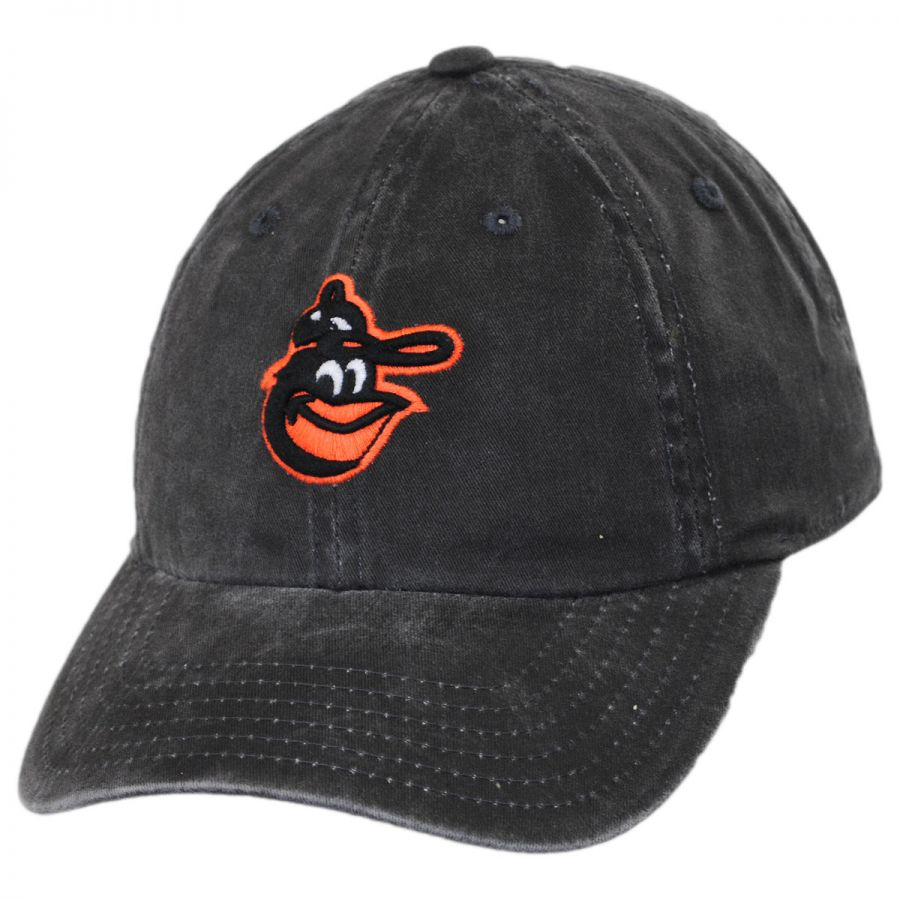 Baltimore Orioles MLB Raglan Strapback Baseball Cap Dad Hat alternate view 1 2eb9d576345