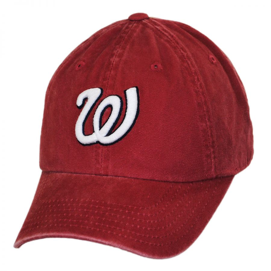 american needle washington senators mlb raglan strapback