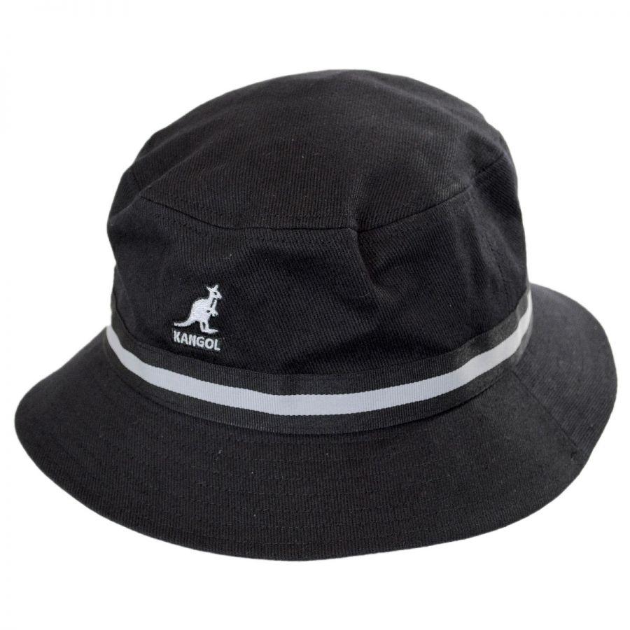 Kangol Stripe Lahinch Cotton Bucket Hat Bucket Hats
