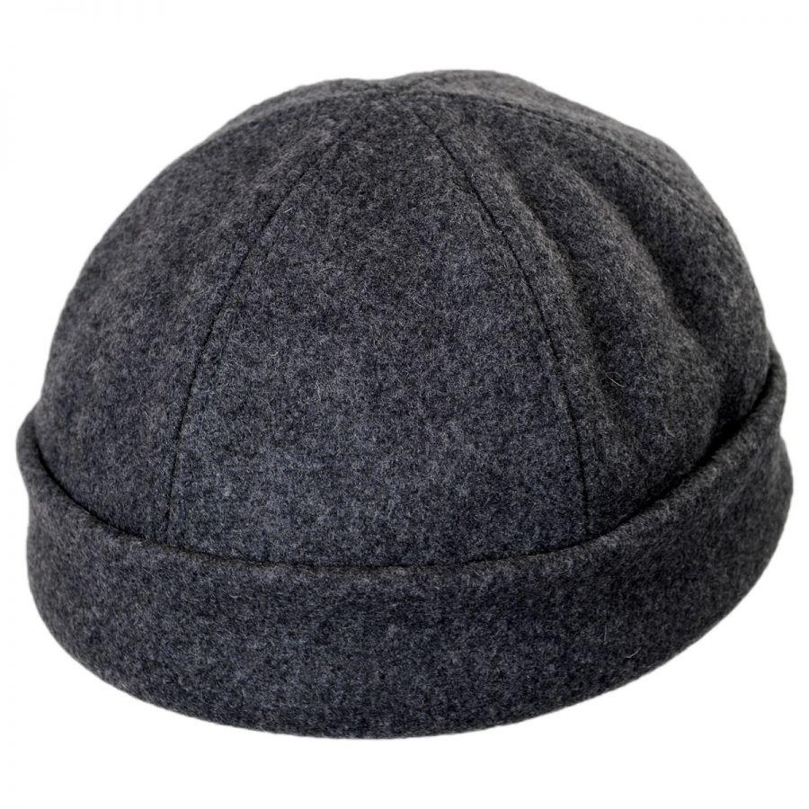 New York Hat Company Six Panel Wool Skull Cap Beanie Hat Beanies 15b12816cda