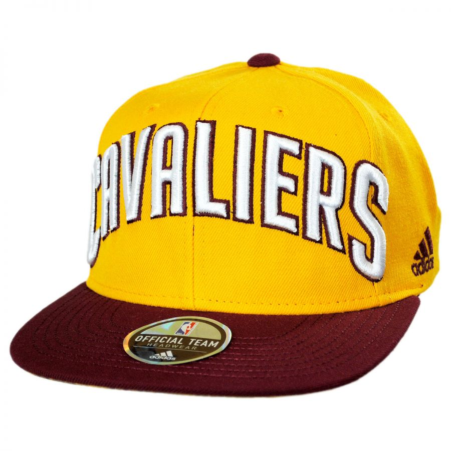 596a412b115 Cleveland Cavaliers NBA adidas On-Court Snapback Baseball Cap alternate  view 1