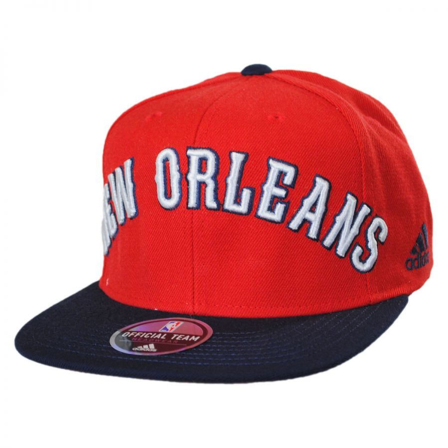 buy online ee289 747e1 New Orleans Pelicans NBA adidas On-Court Snapback Baseball Cap alternate  view 1