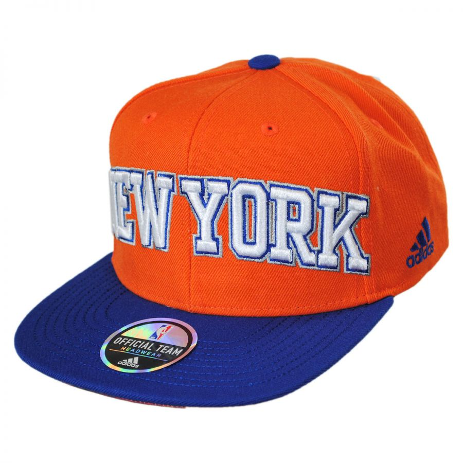 e32578851 New York Knicks NBA adidas On-Court Snapback Baseball Cap alternate view 1
