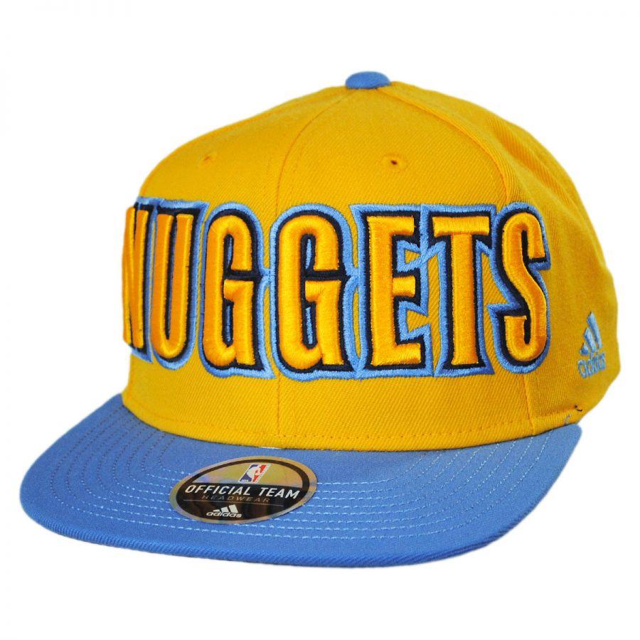 best cheap d0fc9 70c35 Denver Nuggets NBA adidas On-Court Snapback Baseball Cap alternate view 1