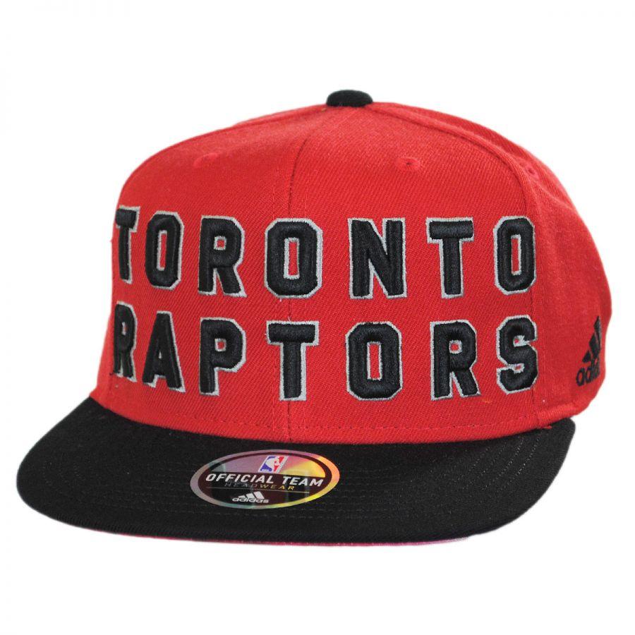 Toronto Raptors NBA adidas On-Court Snapback Baseball Cap alternate view 1 68cfa2d6895