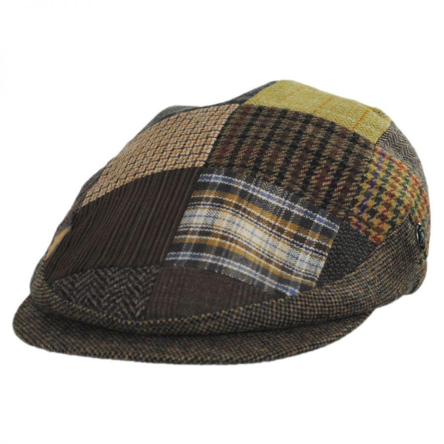 CITY SPORT Cap Harris Tweed Donegal Tweed Large Peak 1920/'s Cap Sizes 56 to 63cm