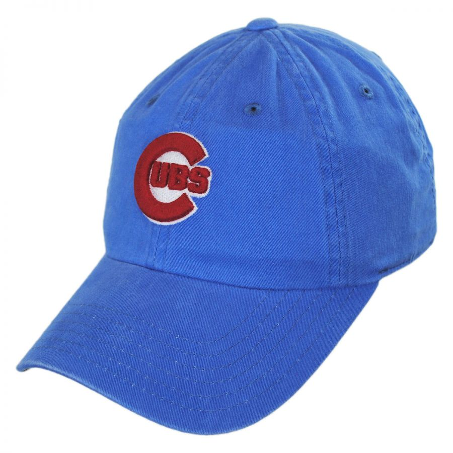 sports shoes 5829e 1b6f4 Chicago Cubs MLB Raglan Strapback Baseball Cap Dad Hat alternate view 1