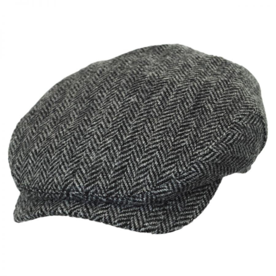 Wigens Caps Herringbone Harris Tweed Wool Ivy Cap Ivy Caps 1a21cac65603