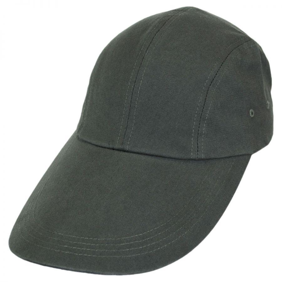 05712228bc69d Village Hat Shop VHS Long Bill Adjustable Baseball Cap All Baseball Caps