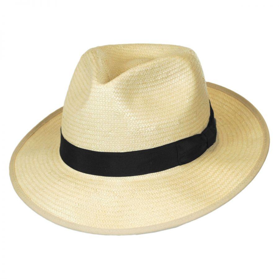 Brixton Hats Spade Toyo Straw Fedora Hat Straw Fedoras f177c1a272d