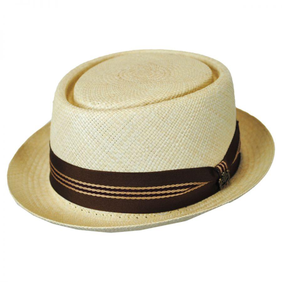 biltmore harrison straw pork pie hat vhs exclusive pork pie hats. Black Bedroom Furniture Sets. Home Design Ideas