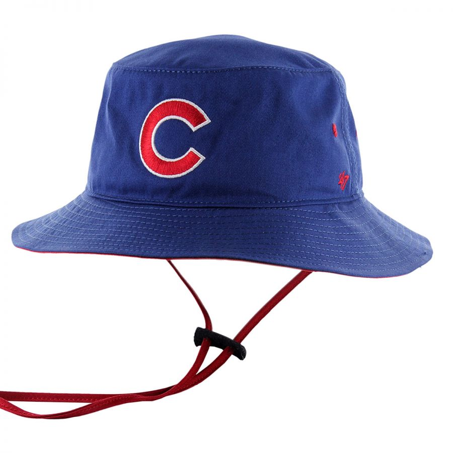 Cubs Floppy Hat: 47 Brand Chicago Cubs MLB Kirby Bucket Hat Bucket Hats