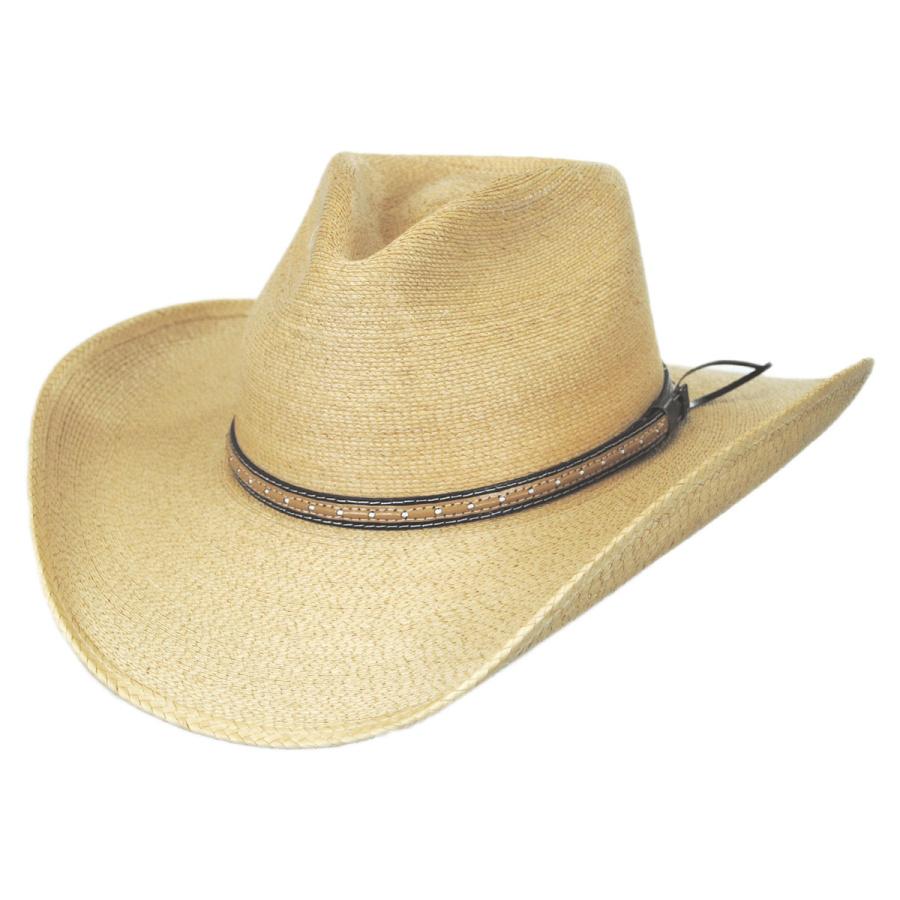 Stetson Sawmill Palm Leaf Straw Western Hat Western Hats