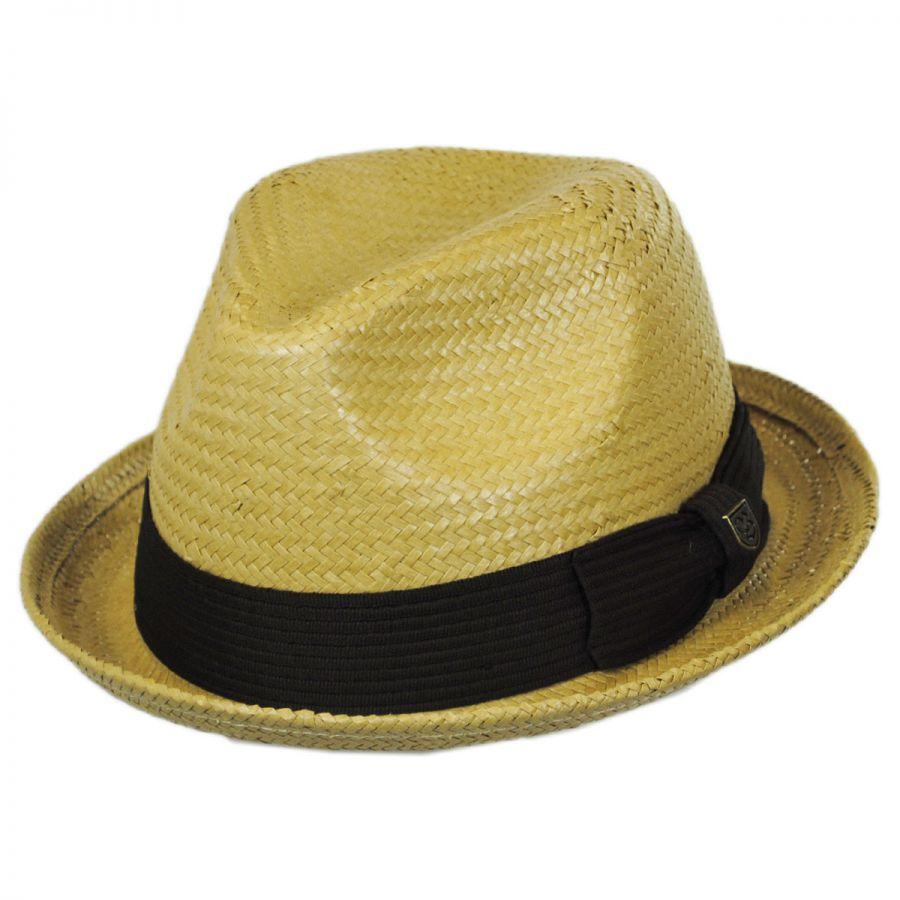 Brixton Hats Castor Toyo Straw Fedora Hat All Fedoras 003509f44