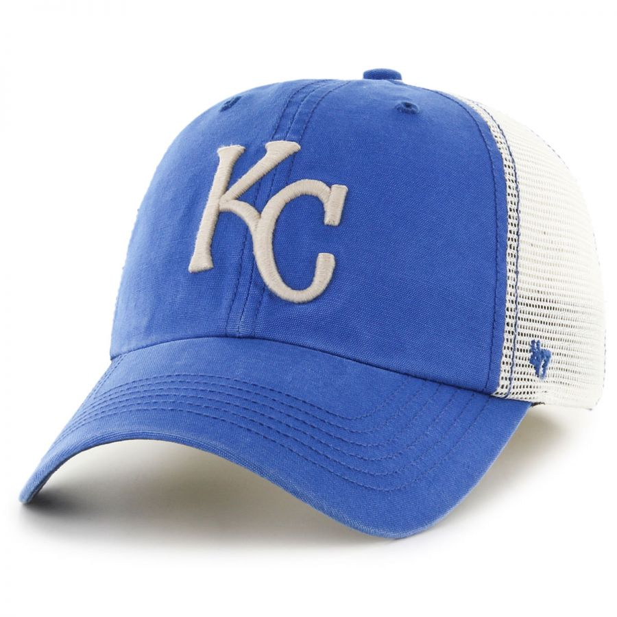 47 brand kansas city royals mlb rockford mesh baseball cap