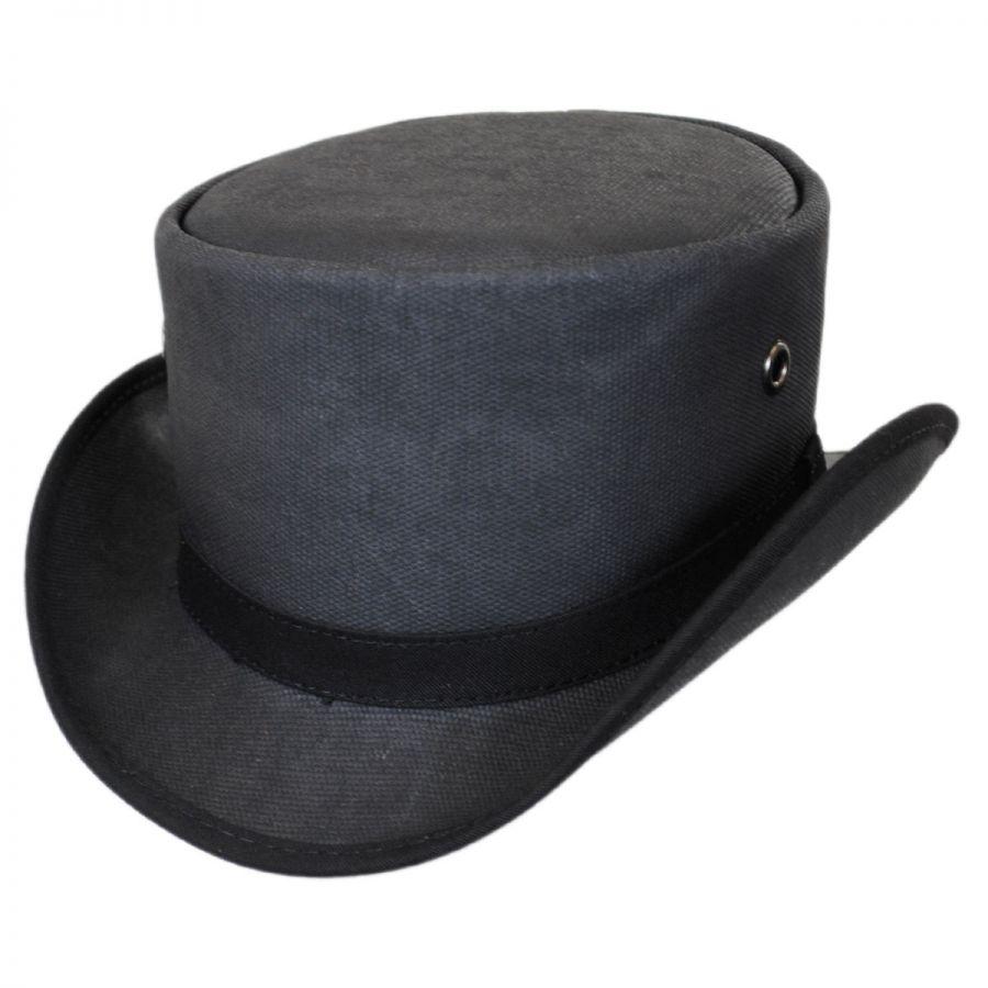 7adbec457fe Head  N Home Downtown Wax Cotton Topper Top Hats