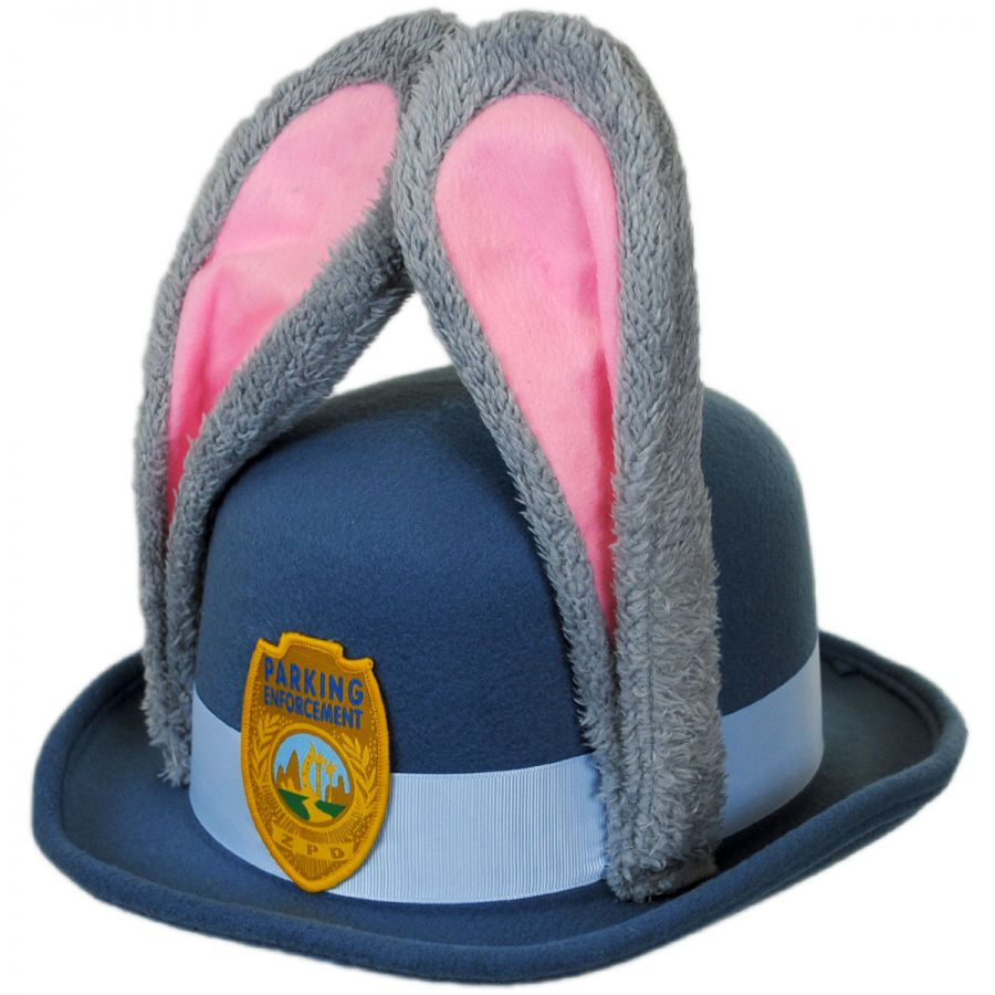 disney judy hopps bowler hat with ears novelty hats view all