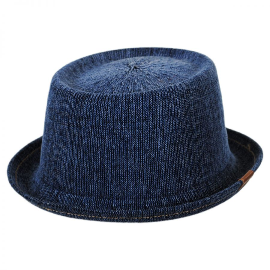 Kangol Denim Mowbray Pork Pie Hat Pork Pie Hats fc67c3b9890