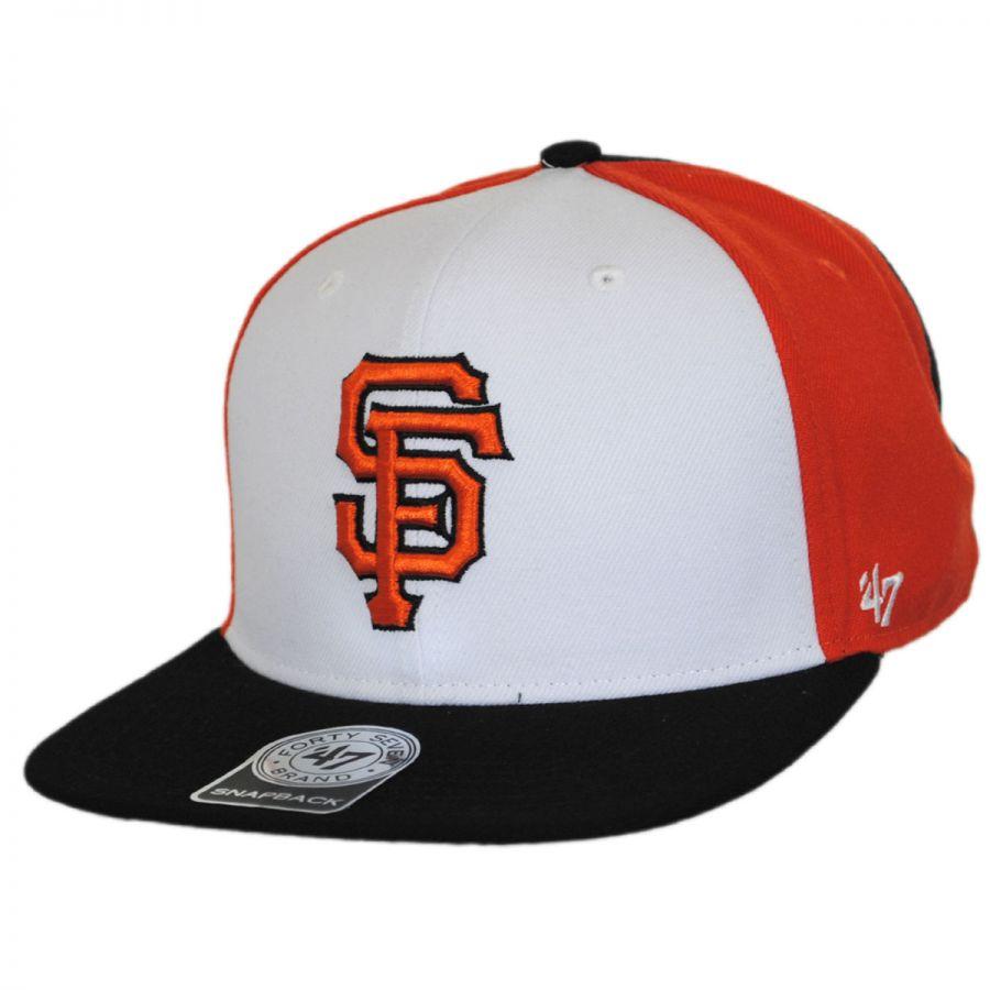 47 brand san francisco giants mlb amble snapback baseball