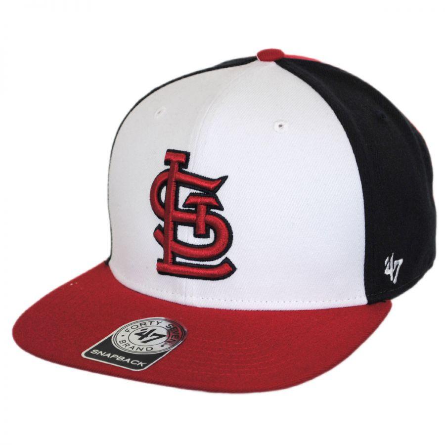 47 brand st louis cardinals mlb amble snapback baseball
