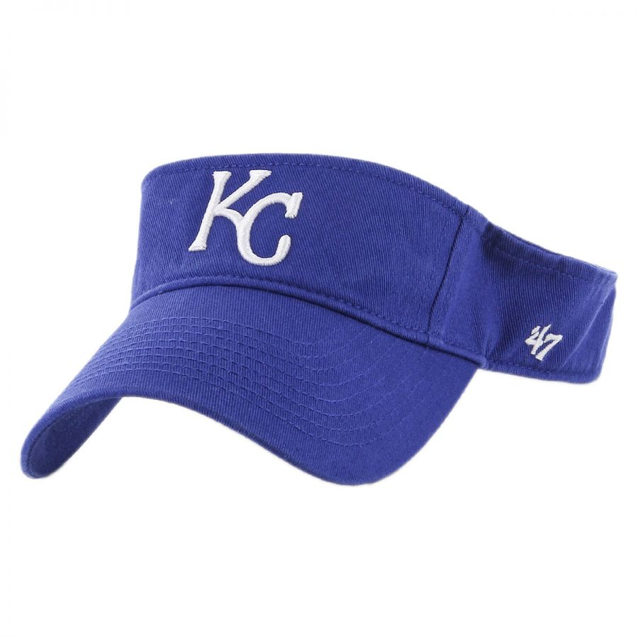 47 brand kansas city royals mlb clean up adjustable visor
