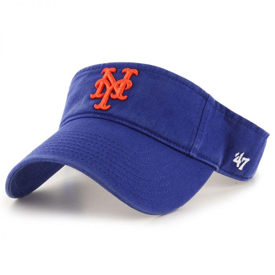 47 brand new york mets mlb clean up adjustable visor mlb