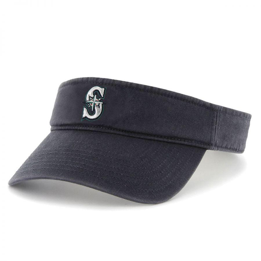 47 Brand Seattle Mariners MLB Clean Up Adjustable Visor ...