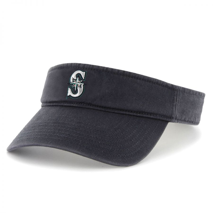 check out 0aee4 e0052 47 Brand Seattle Mariners MLB Clean Up Adjustable Visor