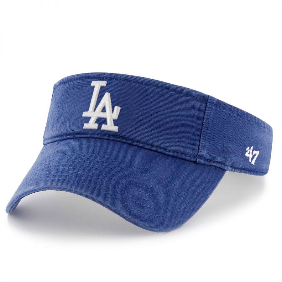 47 brand los angeles dodgers mlb clean up adjustable visor