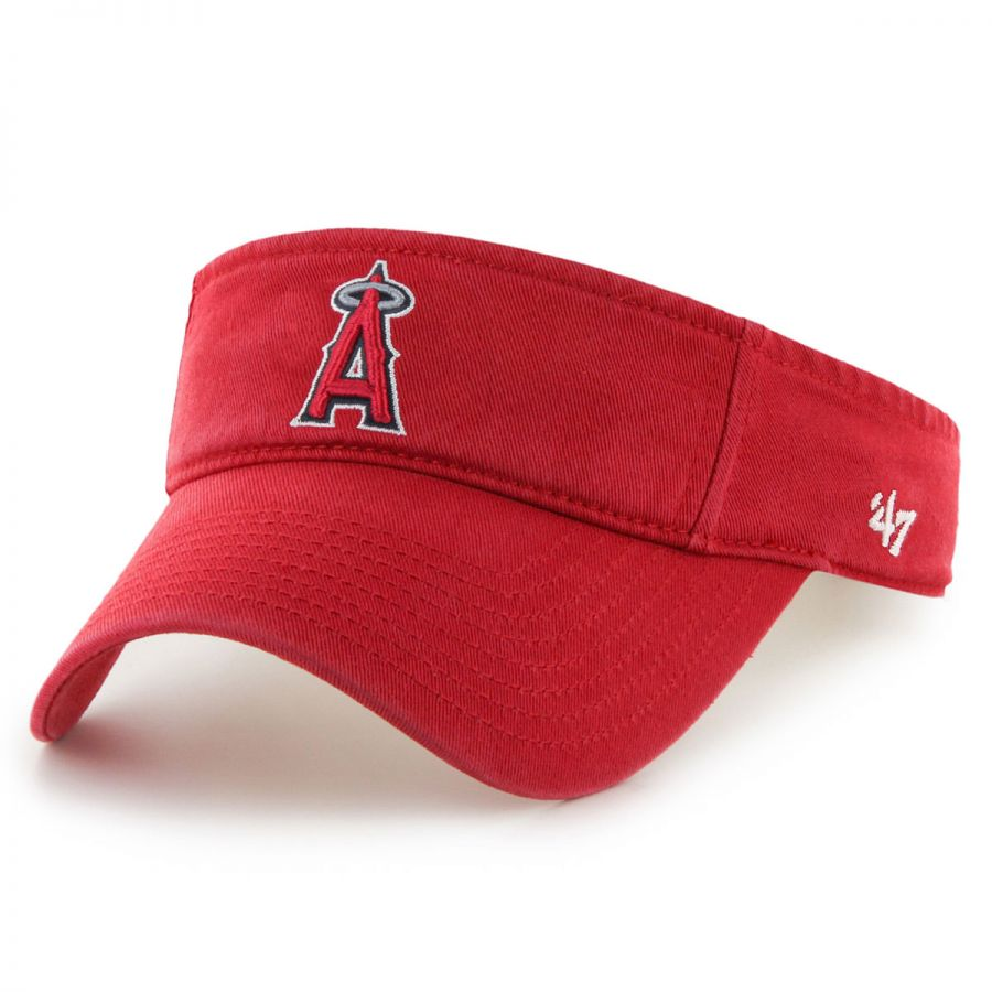 size 40 b68cf bf9a0 47 Brand Los Angeles Angels of Anaheim MLB Clean Up Adjustable Visor