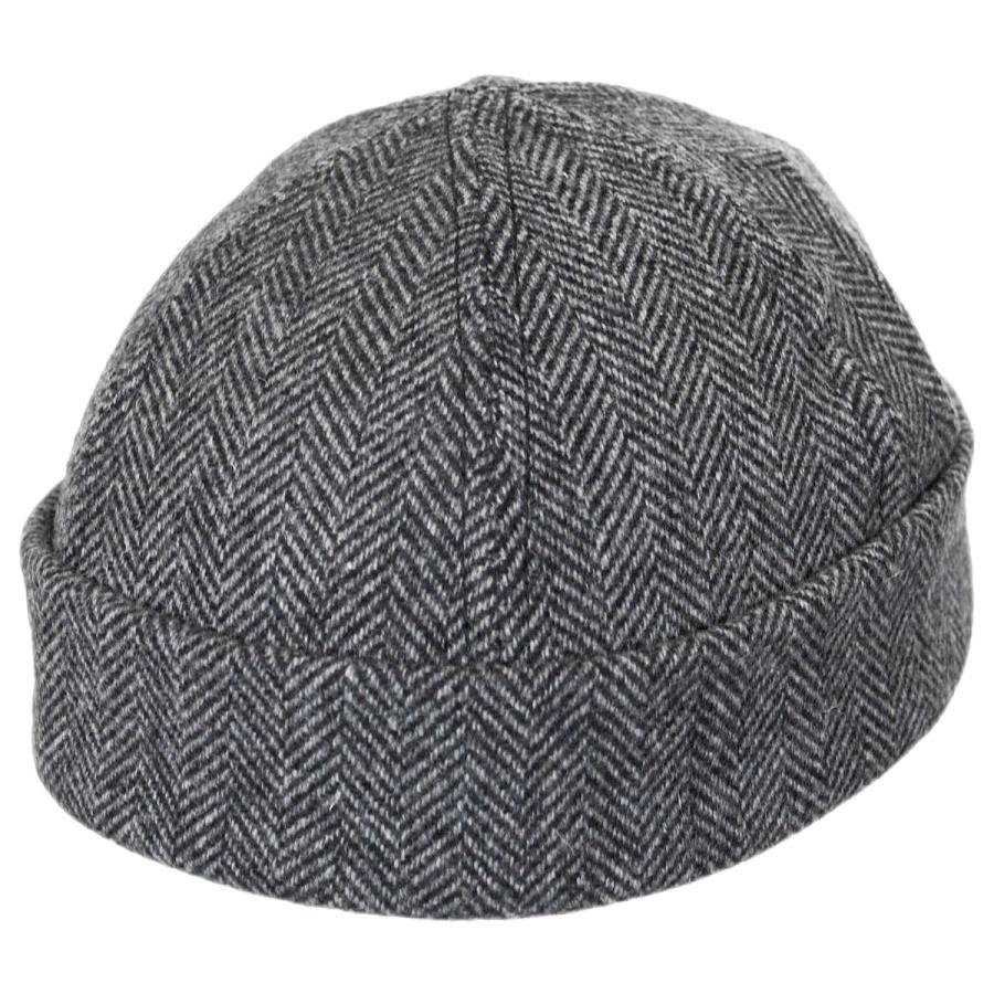 Six Panel Herringbone Wool Skull Cap Beanie Hat Beanies a80aed2d22d