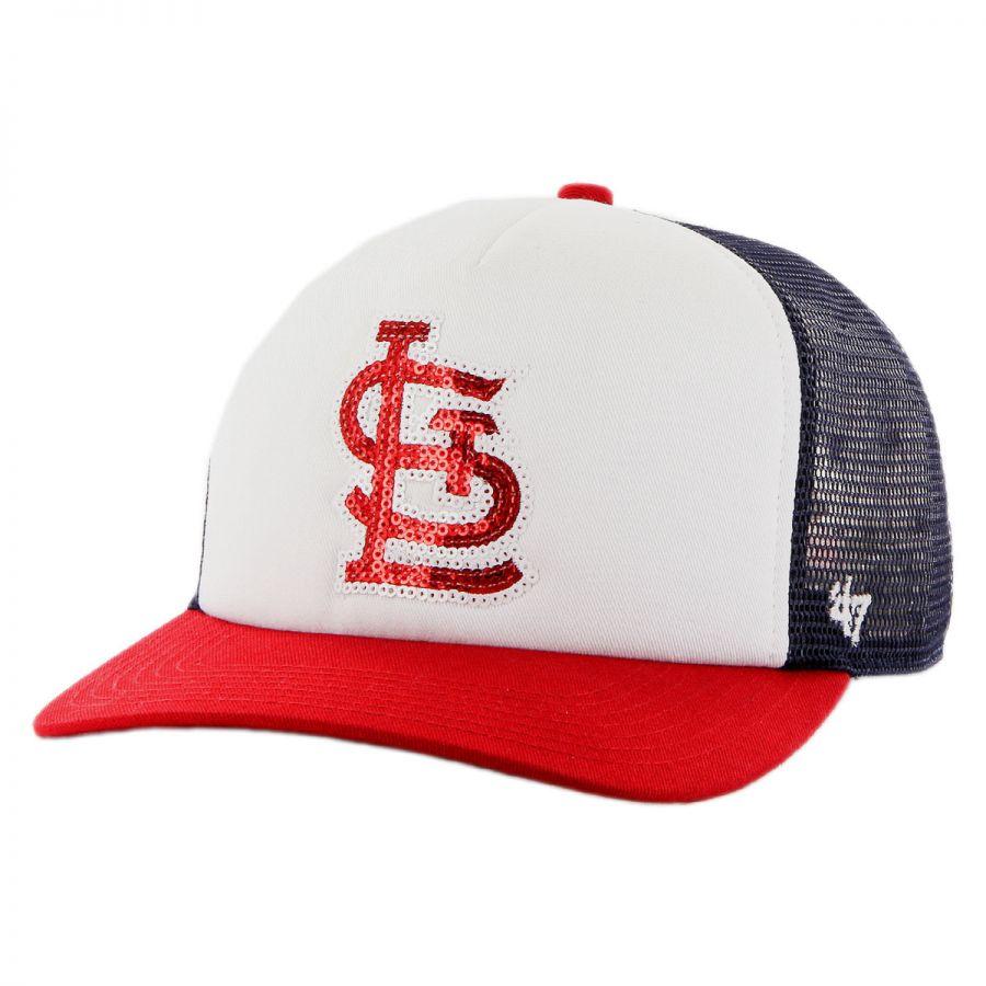 47 brand st louis cardinals mlb glimmer snapback baseball