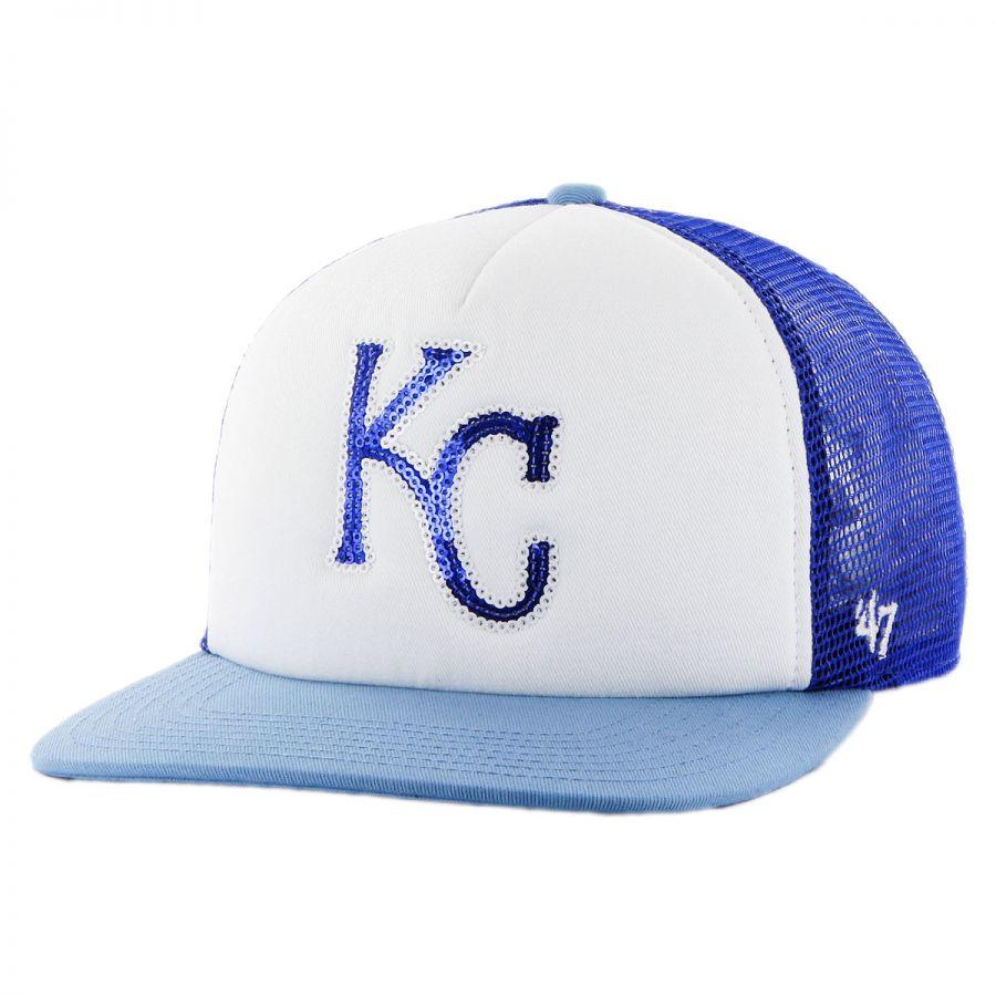 buy popular 1a222 5fd9b 47 Brand Kansas City Royals MLB Glimmer Snapback Baseball Cap