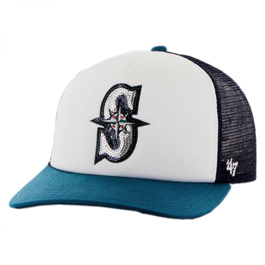 47 Brand Seattle Mariners MLB Glimmer Snapback Baseball ...