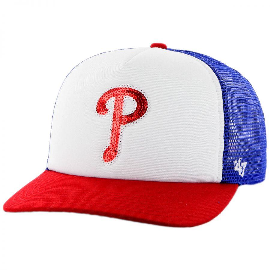 e701f8cb69e 47 Brand Philadelphia Phillies MLB Glimmer Snapback Baseball Cap MLB ...