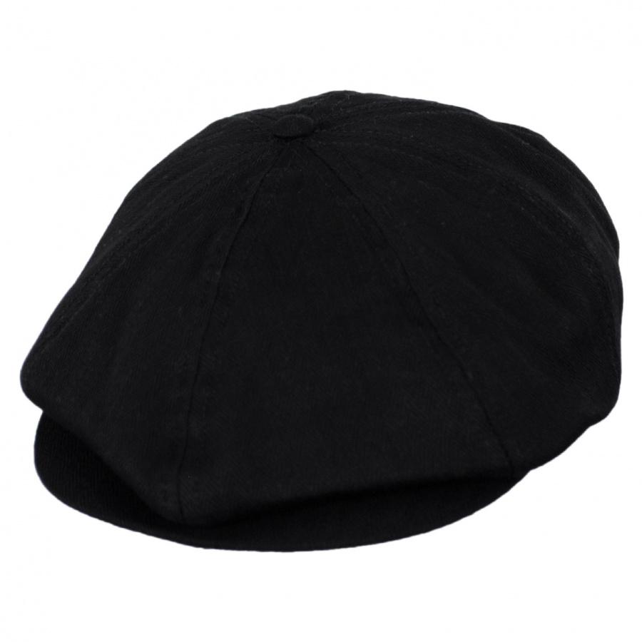 Brixton Hats Brood Tonal Herringbone Cotton Newsboy Cap Newsboy Caps ee2f838df765