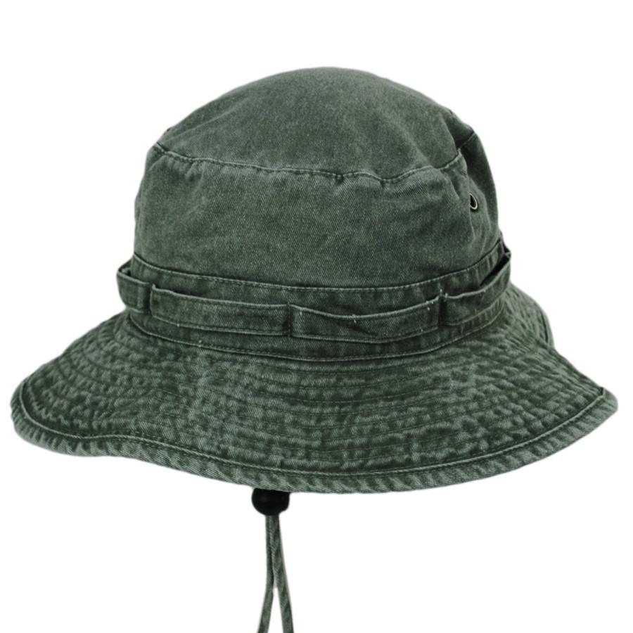 Village Hat Shop VHS Cotton Booney Hat - Olive Bucket Hats 6f720cf8067