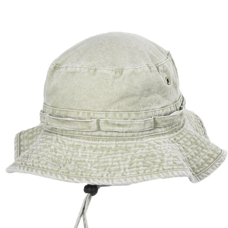 Village Hat Shop VHS Cotton Booney Hat - Putty Bucket Hats 84978f7e5d3