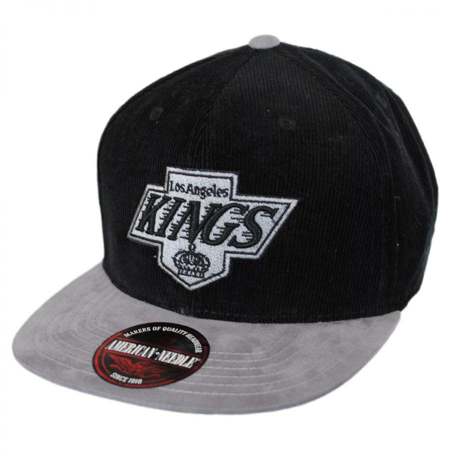American Needle Los Angeles Kings Nhl Chapparel Micro Strapback Baseball Cap Dad Hat Nhl Hockey Caps