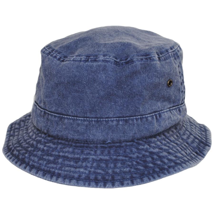 b2f4c18b37106 Village Hat Shop VHS Cotton Bucket Hat - Navy Bucket Hats