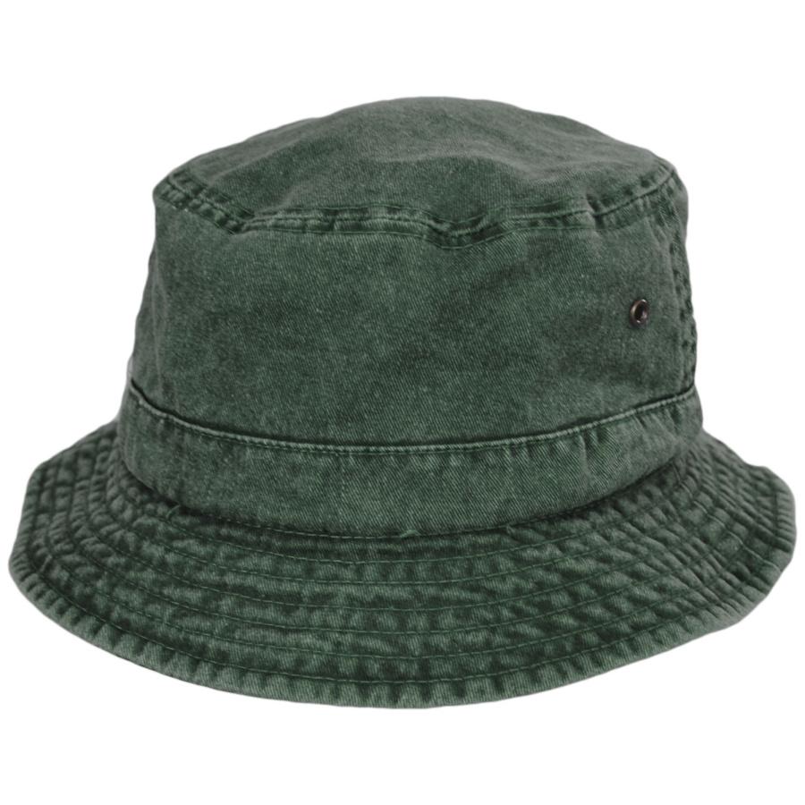 9bb5142b52b697 Village Hat Shop VHS Cotton Bucket Hat - Olive Bucket Hats