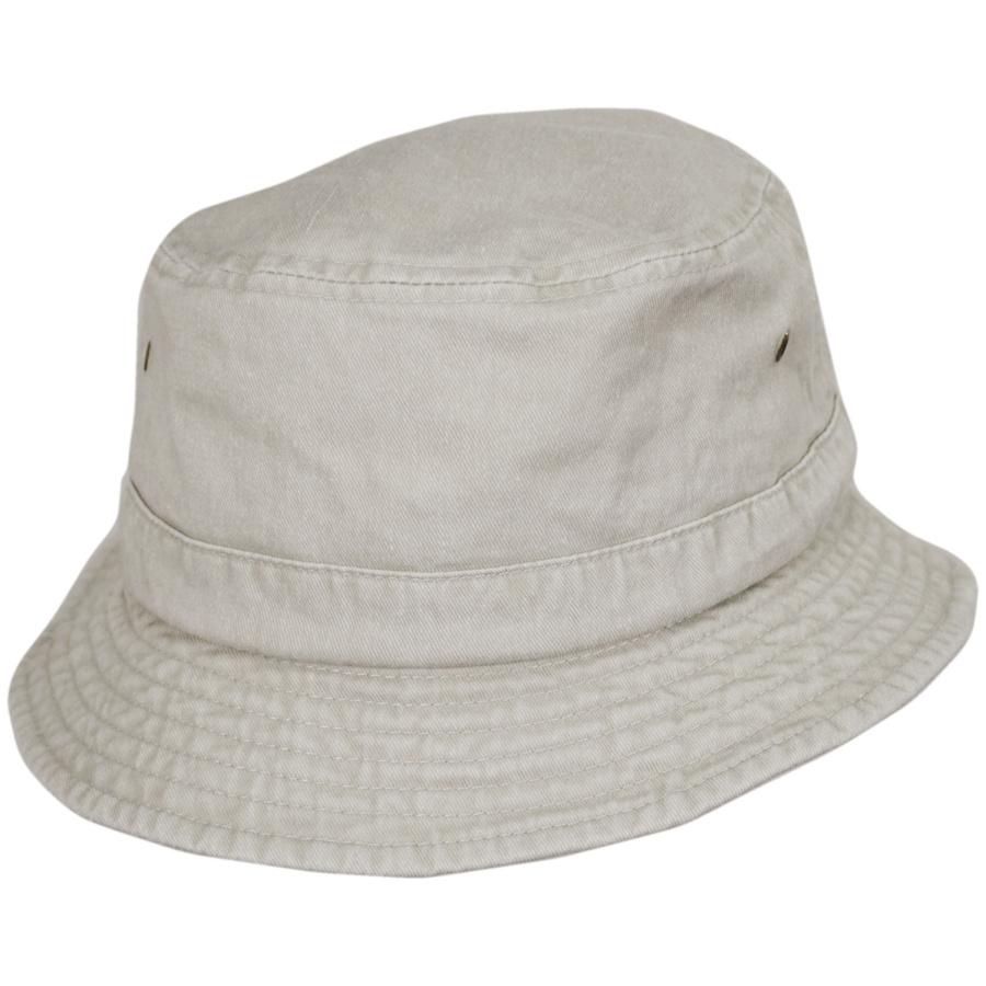 fac03a59ef337f VHS Cotton Bucket Hat - Putty alternate view 5. Village Hat Shop