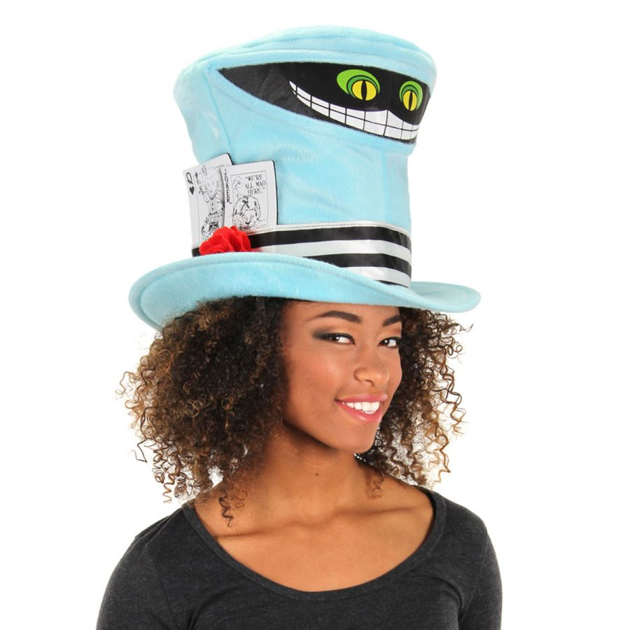 elope cheshire cat mad hatter top hat mad hatter