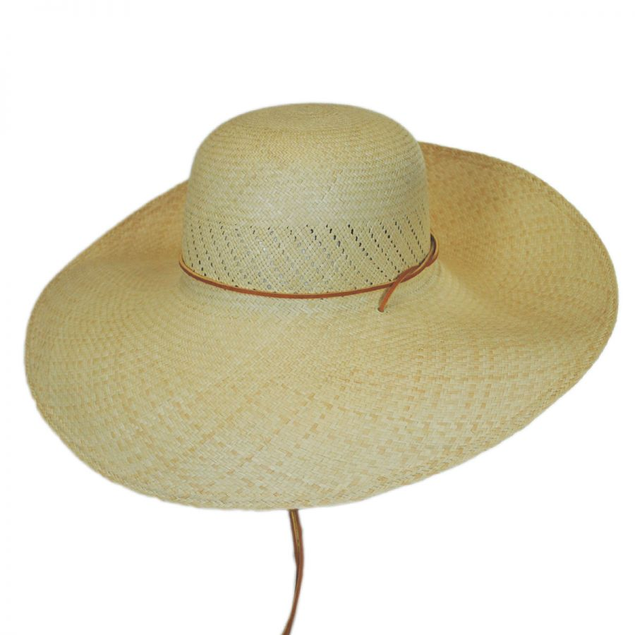San Francisco Hat Co. Panama Straw Wide Brim Hat