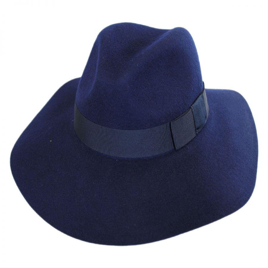 Piper Hat In Blue. Chapeau De Joueur De Cornemuse En Bleu. - Size S (also In M,xs) Brixton - Taille S (également En M, Xs) Brixton