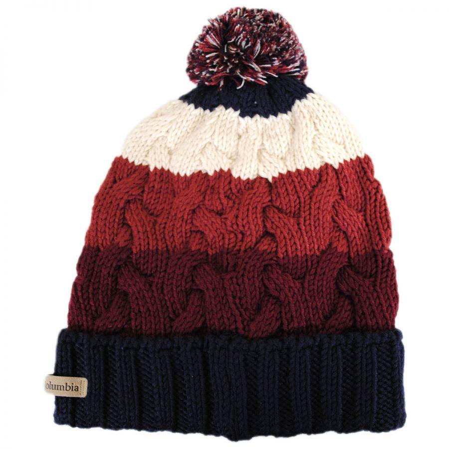 3257cf3acdd Columbia Sportswear Carson Pass Pom Knit Beanie Hat Beanies