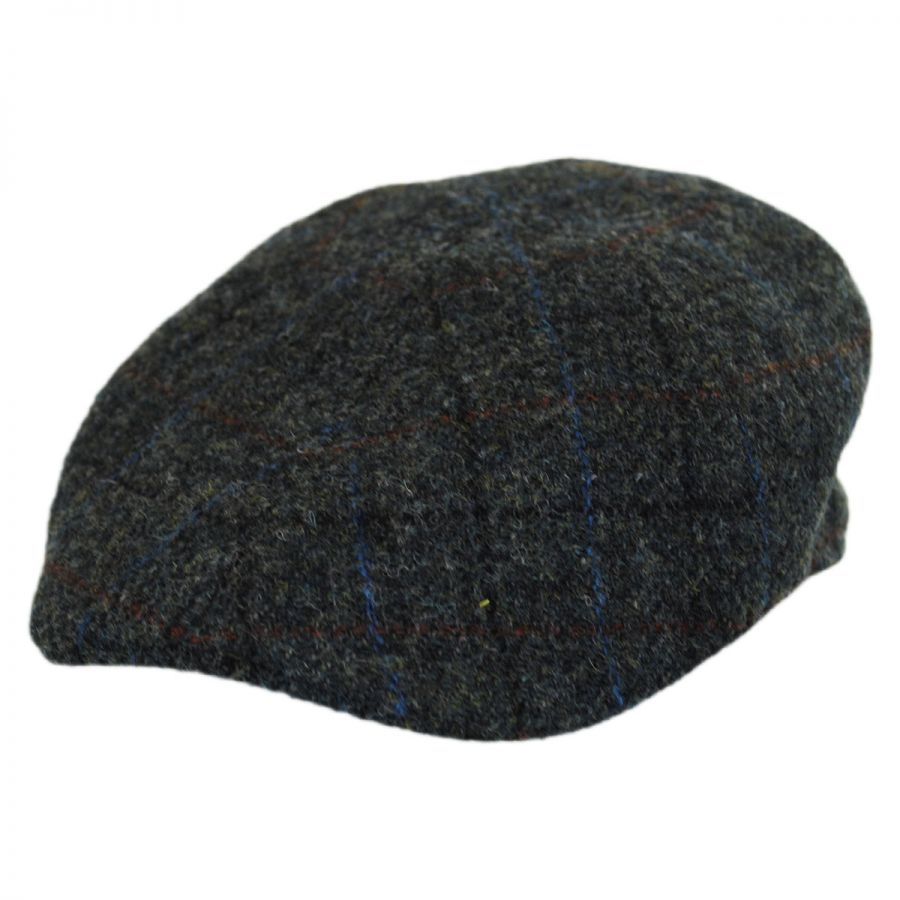 City Sport Caps Harris Tweed Plaid Wool Duckbill Ivy Cap Duckbills f74c59ea0baf