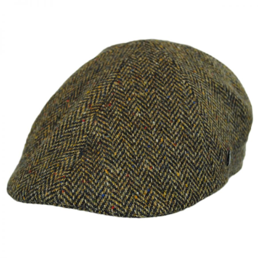 City Sport Caps Donegal Tweed Herringbone Duckbill Ivy Cap Duckbills 1ada083e302d
