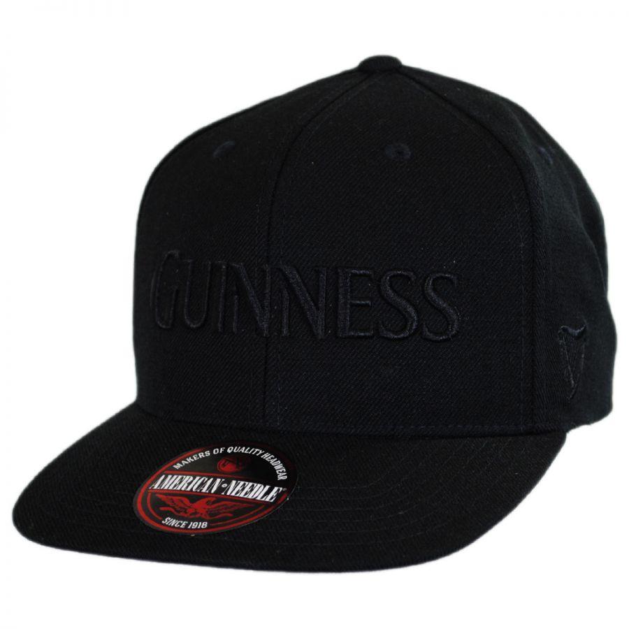 American Needle Guinness Tonal Snapback Baseball Cap Snapback Hats a4b541c790f