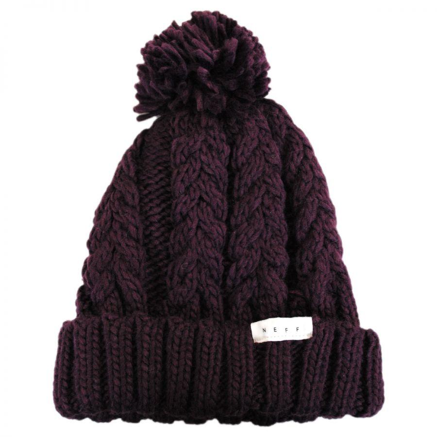 48534eae9ec Kaycee Knit Beanie Hat alternate view 4